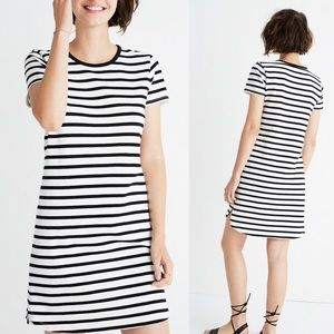 Madewell    Striped Ringer Tee Dress Size L